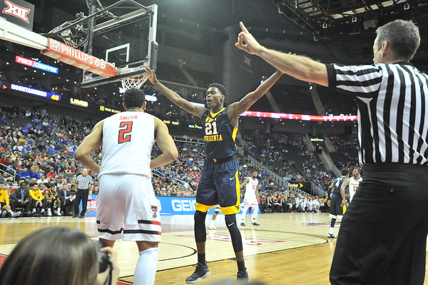 WVU Basketball Big 12 Tournament vs Texas Tech