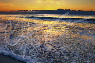 Coopers Beach, Southampton, NY. Sunrise.
