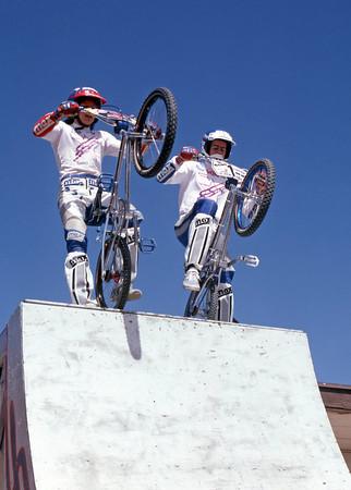 1983 Chandler BMX Freestyle Show