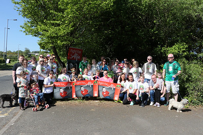 TOWPATCH WALK FOR 'FIGHT FOR ALFIE'