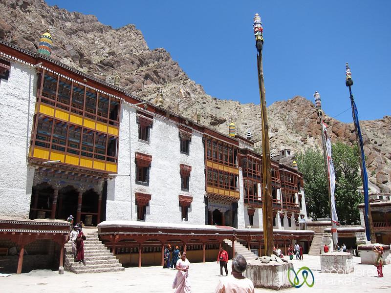 Hemis Monastery, Main Courtyard - Ladakh, India