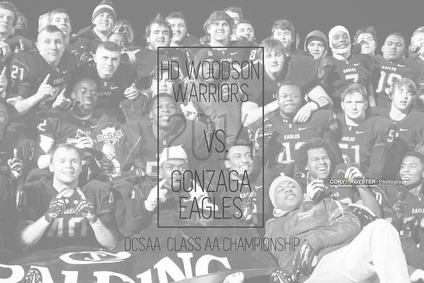 HD Woodson vs Gonzaga - DCSAA State Championship Game