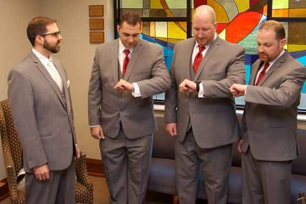 Abby & John: Groom and Groomsmen Get Ready