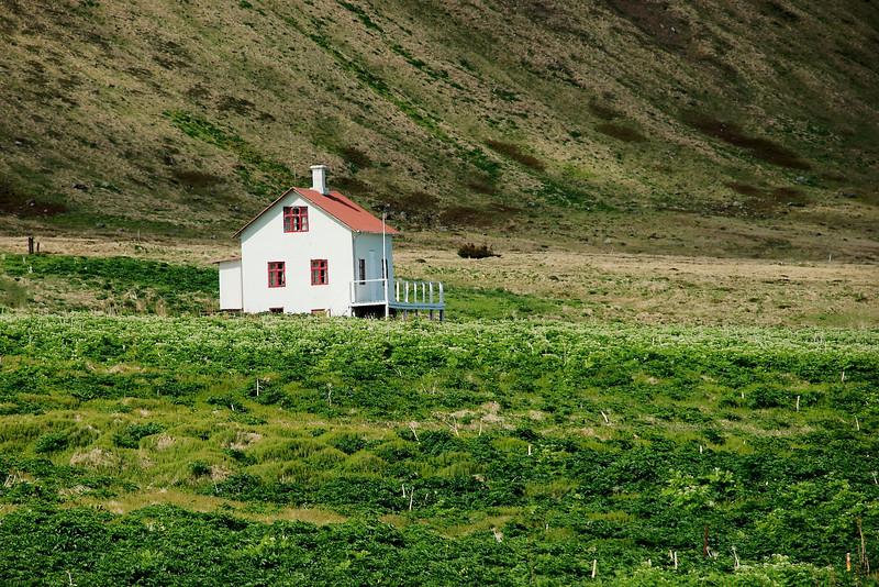 Aðalvík - Sæból. Steinhúsið 2013.