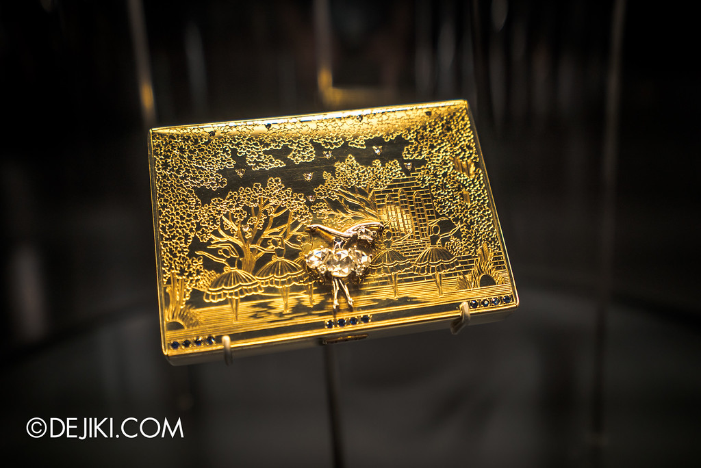 Van Cleef & Arpels: The Art and Science of Gems / Icons - Golden Ballerina case