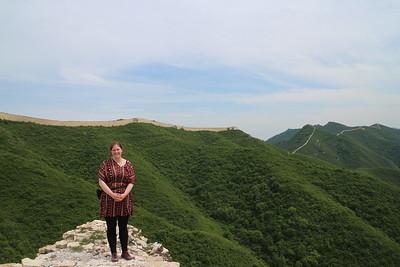 General Xu Great wall hiking May