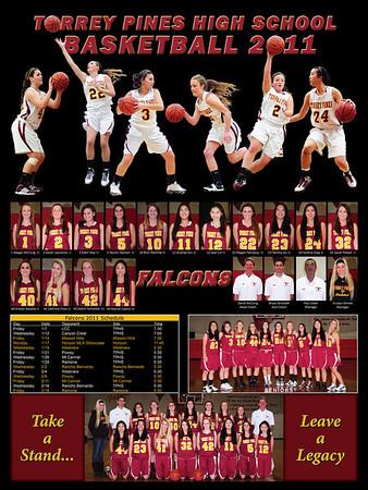 girls basketball poster