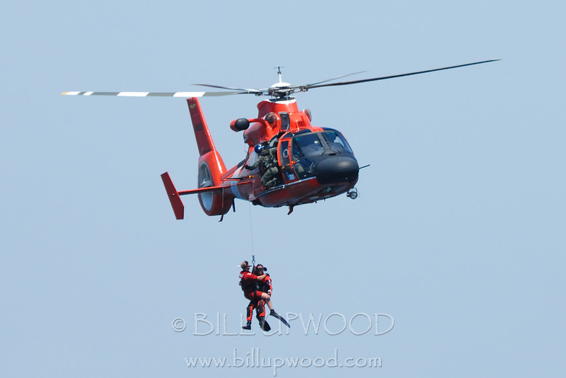 Coast Guard Rescue Demonstration, 4th of July Airshow, Traverse City, Michigan