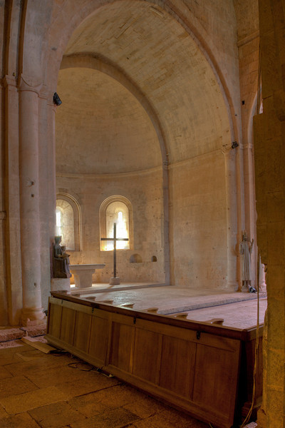 Le Thoronet Abbey Apse
