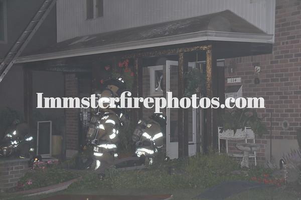 Jericho FD House fire 7-31