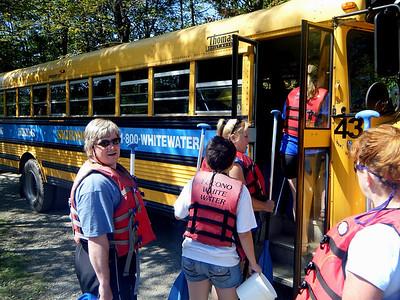 Pocono Whitewater Rafting '09