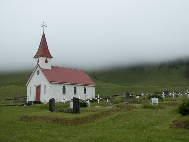 South Coast near Vik, Iceland