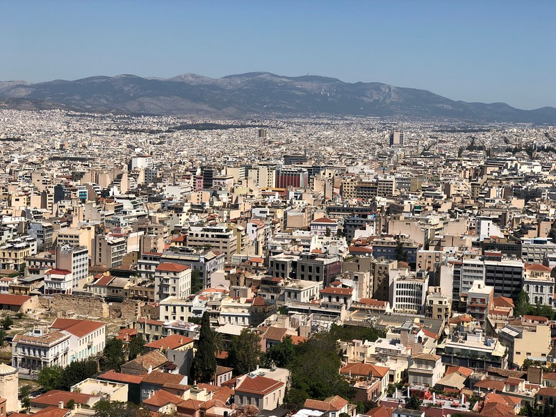 4/23 Day 2: Athens city tour