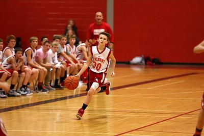 Boys 8th Grade Basketball - 11/30/2015 Spring Lake