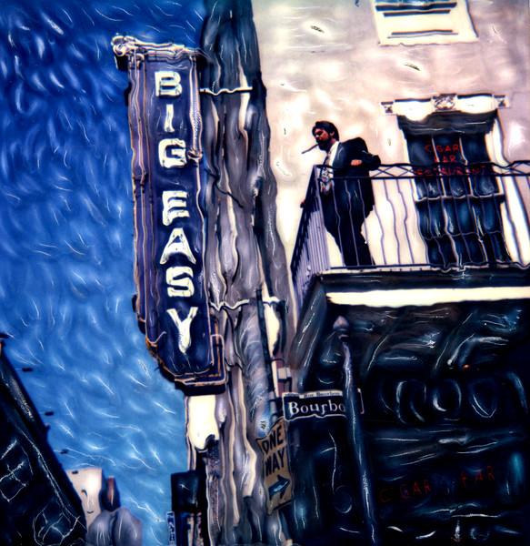 Big Easy Cigar Bar ~ New Orleans