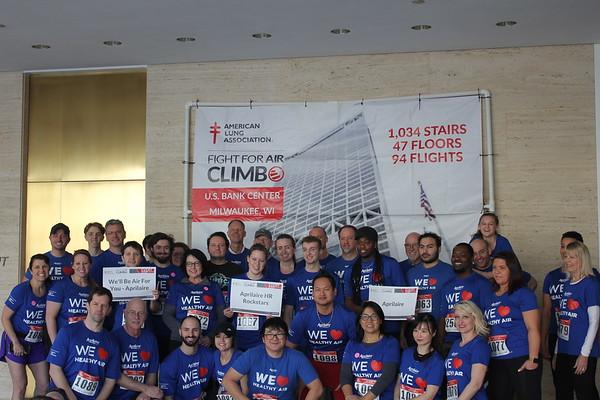 2020 Fight For Air Climb - Team Photos