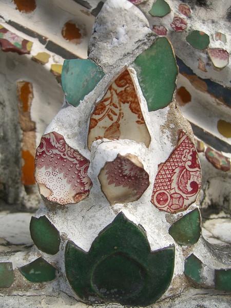 Wat Arun Made from Broken China - Bangkok, Thailand