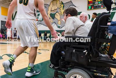 Boys Basketball: GW-Danville vs. Loudoun Valley 2.25.16 (by Chas Sumser)