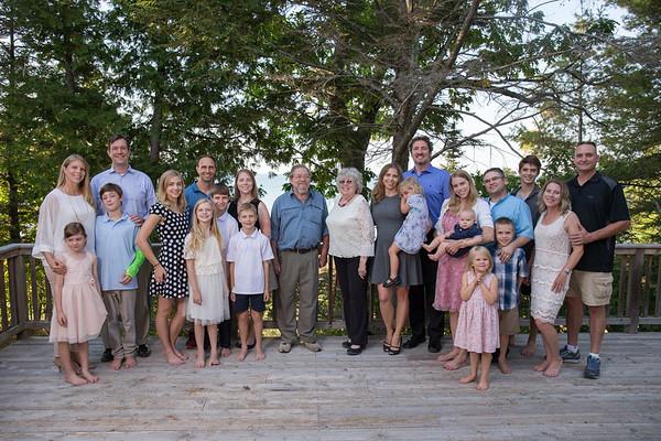 Family photography Cross Village Michigan
