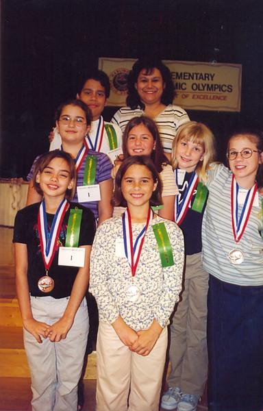 November 1999 Elementary Academic Olympics