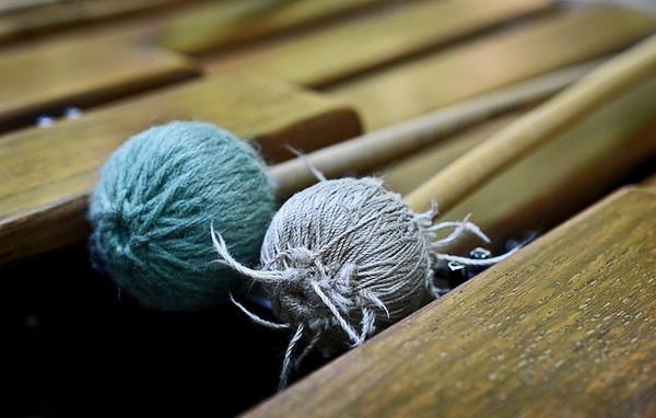 1114 imperfection  Well worn mallets still make nice marimba music.