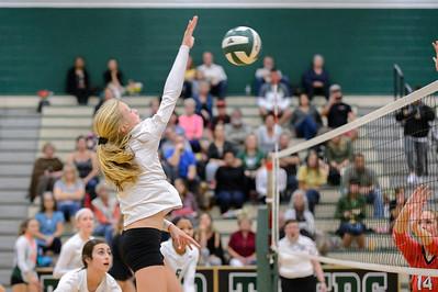 Tigard HS Varsity Volleyball vs Oregon City