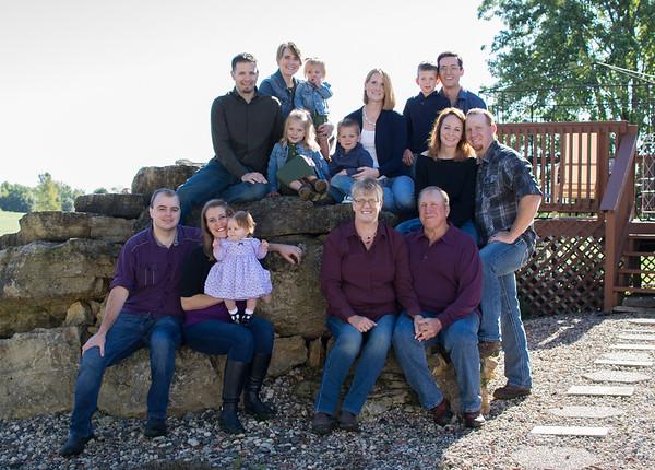 Johnson Extended Family