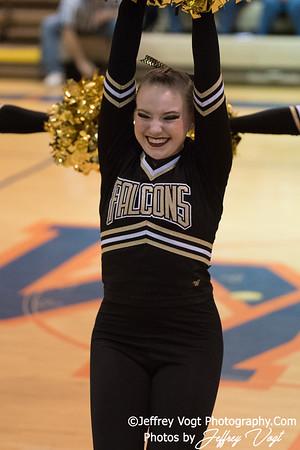 1-27-2018 Poolesville HS at Watkins Mill HS Pompons Invitational Division 1, Photos by Jeffrey Vogt Photography