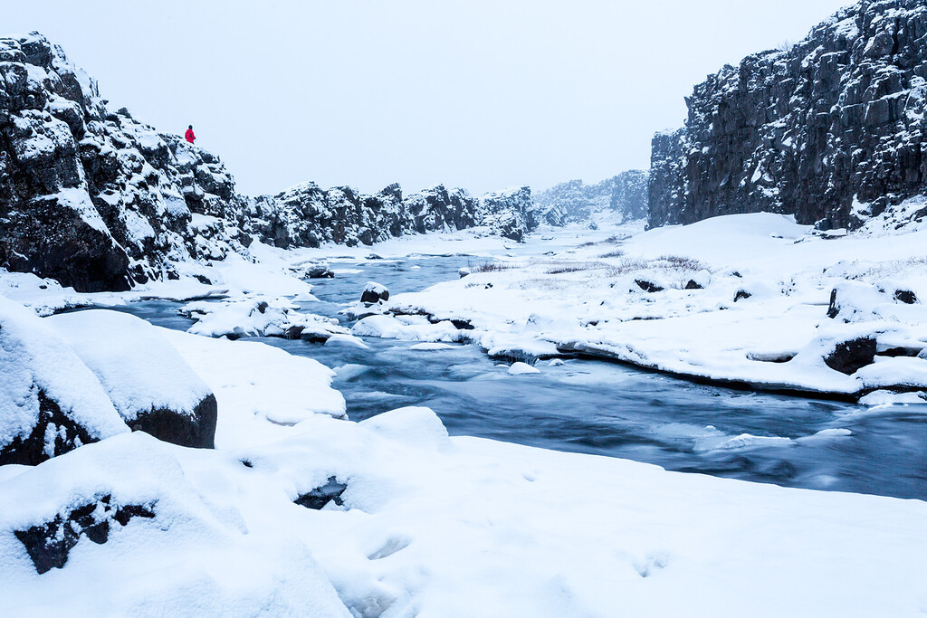 Snowy Thingvellir
