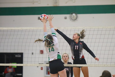 Iowa-Grant Volleyball 10-20-18
