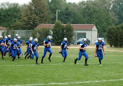 Shelby Lions Football Club - 2006 Varsity Football Team