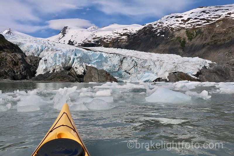 The Portage Glacier