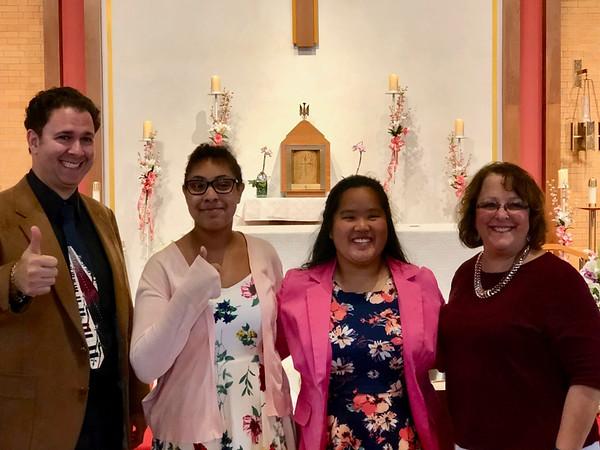 2018 St. Theresa Women's Club Scholarship