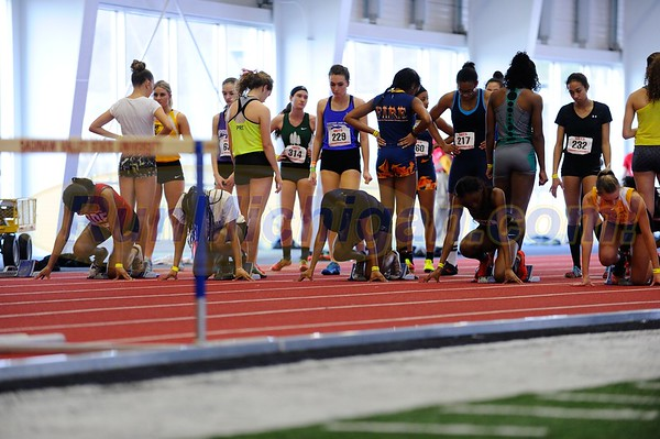 Girls' 60 Meter Hurdle Prelims - 2018 MITS State Meet