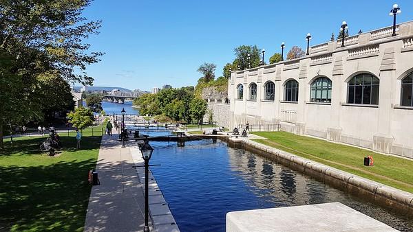 Days 6 & 7: Ottawa Locks - 16 & 17 September 2019