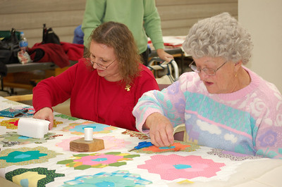 Quilters @ LIbrary