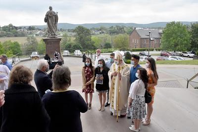 2021 Bishop Kulick Visits Basilica Parish