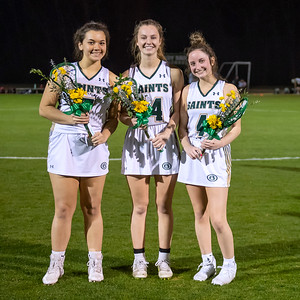 March 4 girls lacrosse Senior Night!
