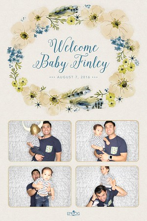 Welcome Baby Finley (prints)