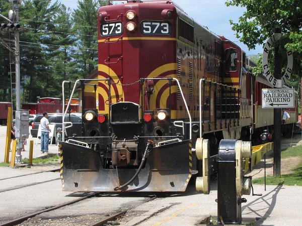 Conway Scenic Railroad, North Conway, New Hampshire