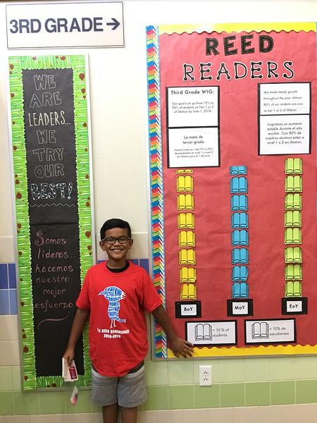 Dhruv | 3rd | Reed Elementary School