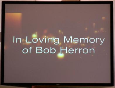 BOB HERRON MEMORIAL SERVICE