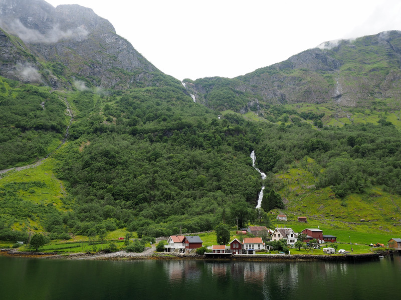 Sailing on the Aurlandsfjord in Norway
