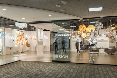 Dallas Market Center Showroom and Building shoot
