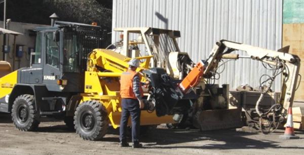 E201 Hydraulic Hammer
