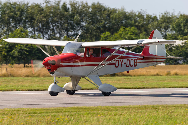OY-DCB - Piper PA-22-150 Tri-Pacer