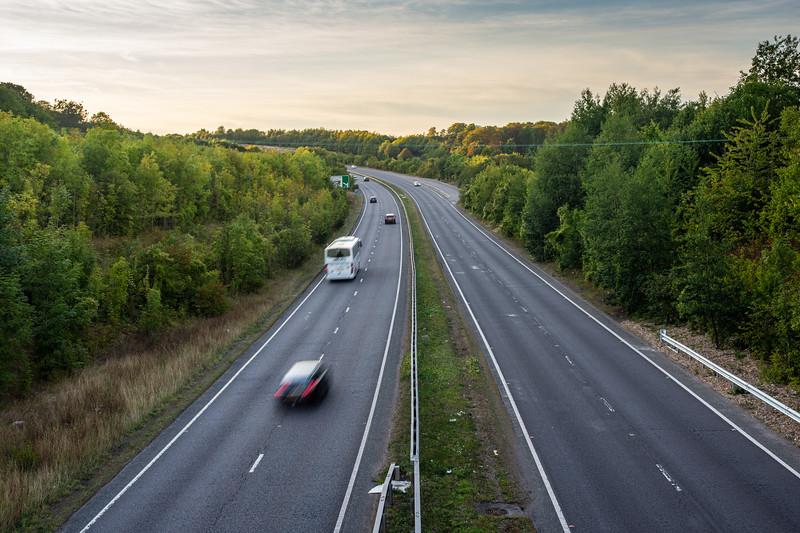 A41 dual carriageway