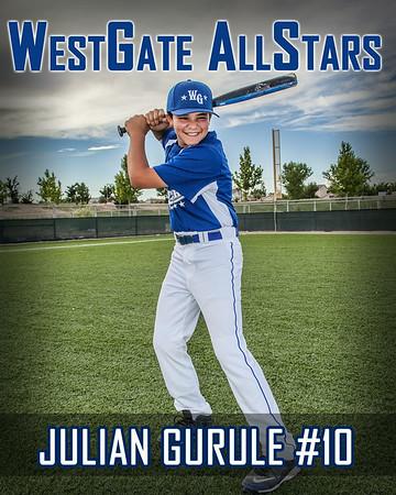 Julian Gurule #10