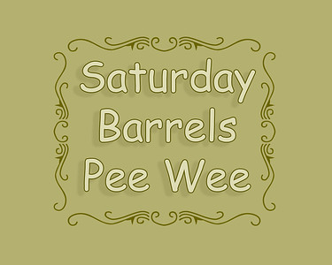 DEC LB 2018 Sat Pee Wee Barrels
