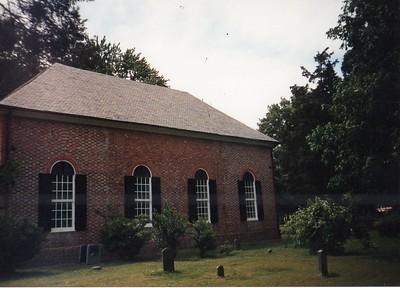 St. Mary's White Chapel, Virginia, 1669